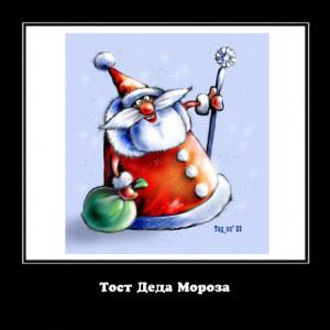 Тост Деда Мороза